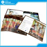 Cheap Staple Color Brochure Printing in China