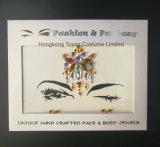 2018 New Personalized Temporary Face Sticker China Body Jewelry Sticker Rhinestone Eye Sticker (S083)