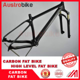 "Carbon Fatbike Frame 26er Fit 4.8/5.0 Tyre Bike Snow Bike Frame 15.5""17.5""19.5""21"""