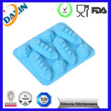Novelty Cat Shaped Custom Silicone Ice Cube Tray