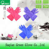 Colored Cleaning PVC Household Gloves