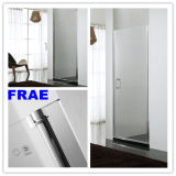 Single Swing Shower Door Panel Tempered Glass Shower Screen Bathroom Shower Simple Shower Room