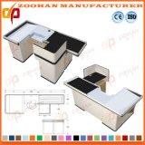 Shop Supermarket Automatic Store Checkout Counter Cashier Desk Manufacturer (Zhc22)