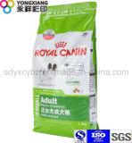 Dimensional Ziplock Pet Food Packaging Bag
