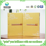 Hot Stamping Gold Color Printing Back Binding Hard Cover Book