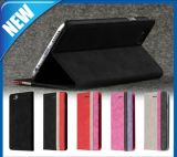 Black Leather Synthetic Wallet Stand Flip Case for iPhone 6