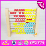 2015 Newest Teaching Wooden Arithmetic Rack for Kid, Popular Wooden Abacus Rack Toy, High Quality Wooden Funny Abacus Rack W12A003