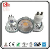 ETL CE Approved 5W Dimmable GU10 COB LED Spotlight