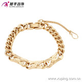Fashion Elegant Gold No Stone Jewelry Bracelet in Brass and Copper Alloy --73982