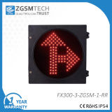 300mm Red Go Straight and Turn Right Traffic Light Price