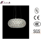 Modern Acrylic Round Pendant Light for Hotel Project Light