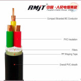 Power Cable with XLPE Insulated and XLPE Sheathed Copper Conductor Electric for Underground