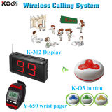 433.92 MHz Transmitter Electronic Call Bell Room Service Call System