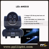 4PCS*15W Zoom Beam RGBW 4in1 Mini LED Moving Head Light
