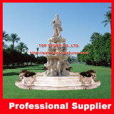 Hand Carved Marble Granite Garden Square Water Fountain