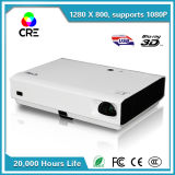 Cre Approved Mini DLP Projector with Bluetooth 3D Glasses WiFi Android