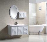 White Modern on Wall Shelf Cabinet Bathroom Mirrored Cabinet (9003)
