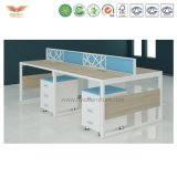 Office Furniture Modern 4 Person Space Saving Furniture Open Office Workstation