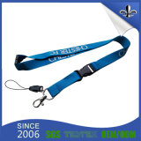 Souvenir Promotional Items Custom Lanyard with Key Chain