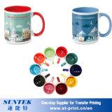 11oz White Ceramic Coated Heat Press Coffee Cups (SKB01)