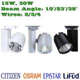 5-Year Warranty 30W LED Track Light Citizen COB LED Downlight