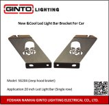 LED Light Bar Bracket Mounting at Car Front Cover or Car Roof