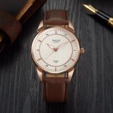 Z398 Fashion Minimalist Watches Men Leisure Leather Strap Watch High Quality