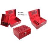 Classica Handmade Red Leather Jewelry Box