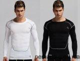 Custom Men′s Fitness Rash Guard Long Sleeve T-Shirt with Quick-Drying