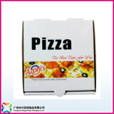 Custom Hot Sale Printed Environmental Kraft Paper Pizza Box (xc-11-003)