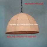 100%Handmade Linen Lamp Shade American Style Pendant Lighting