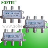 5-2400MHz Indoor 4 Outputs Satellite Splitter