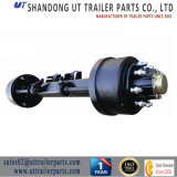 """High Quality American Style Axle/127mm Square/8""""Brake Size/13 Tons/Rear Axle"""