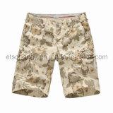 Wholesale Printed 100% Cotton Men′s Shorts (GDS-40)