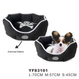 China Manufacturer Cozy Canvas Cute Pet Beds (YF83101)