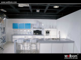2015 High Gloss Modern White Melamine Kitchen Cabinets