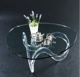 Acrylic Wave Cocoktail Coffee Table (ACT040A)