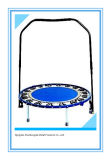Mini High Quality Trampoline with Handrail Indoor Jumping Mat