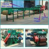 Automatic Forest Tree Log Industrial Drum Wood Chips Machine