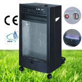Mobile Bedroom Indoor Black Color Blue Flame Gas Heater
