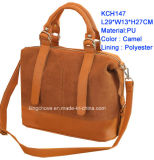 Best Selling and Good Quality Fashion PU Ladies Handbag (KCH147A)