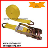 "2"" D-Rings Ratchet Strap 2"" X 30′ Yellow"