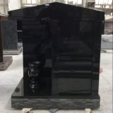 All Black Granite Companion Cremation Columbarium
