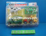Hot Sale Plastic Toy Feel Wheel Construction Car (3994173)