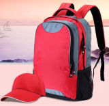 Red School Double Backpack Laptop Bag (SB6621)