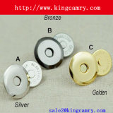 18mm Magnetic Snap, Magnetic Fastener for Bags, Magnetic Button