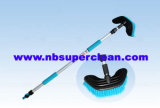 Oval Head Two Stages Car Wash Brush with Long Handle (CN1975)