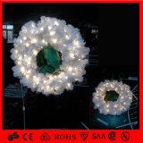 High Quality Cheap Christmas Decorative Light Wreaths