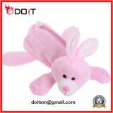 Custom Made Animal Bunny Cow Plush Pencil Bag for Promotion Gift