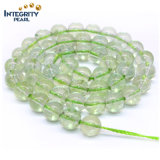 Loose Quartz Strands Size 6 8 10 12mm Green Grape Wholesale Natural Gemstone Crystal